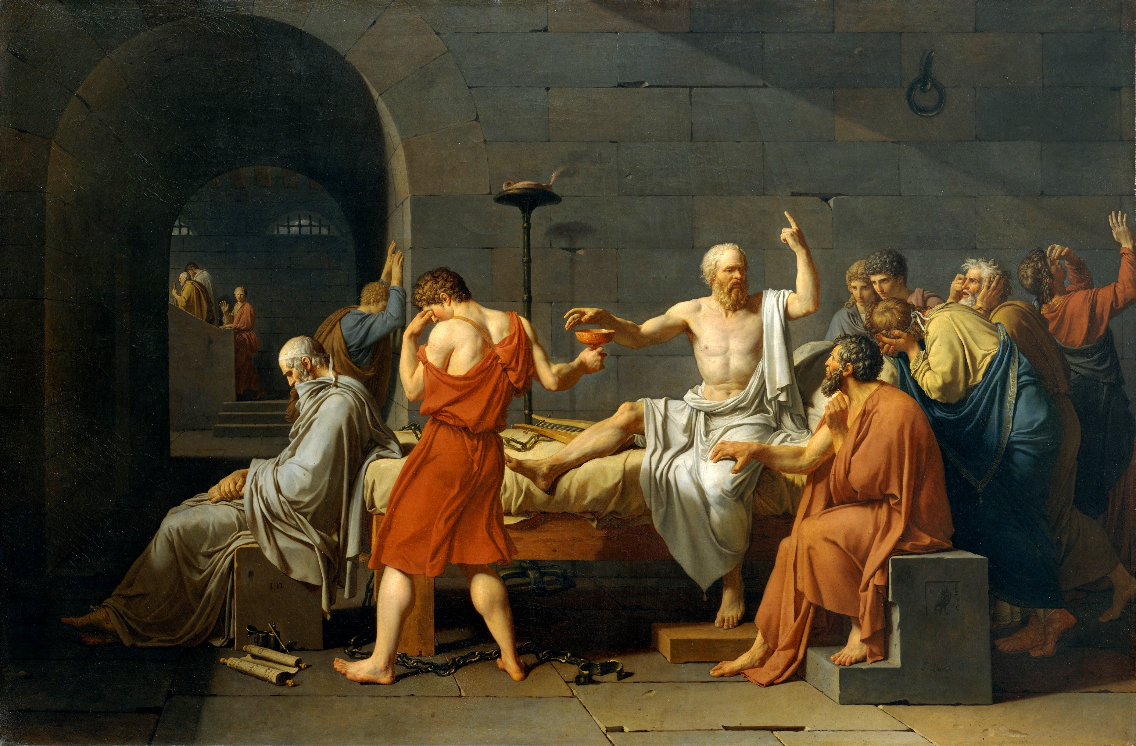 an overview of the role of socrates on death After socrates's death, plato traveled for 12 years throughout the mediterranean region, studying mathematics with the pythagoreans in italy, and geometry, geology, astronomy and religion in egypt.